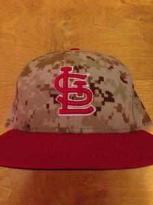 Josh's new Marine Camo Hat